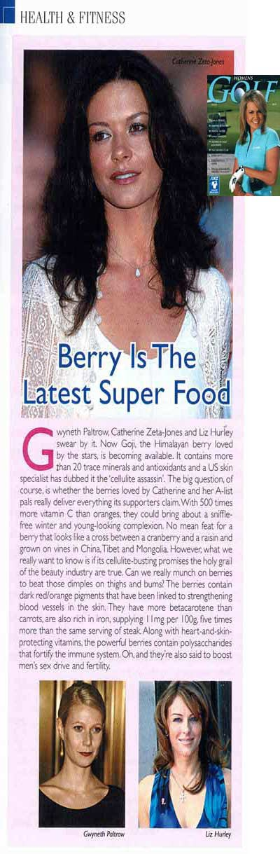 goji berry is in the news again